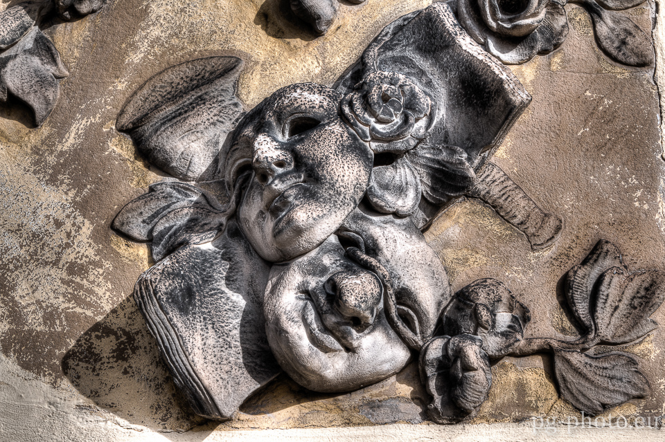 Spaziergang in Potsdam - Masken