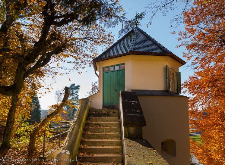 """Schlosspark Laupheim, """"Salzbüchsle"""""""