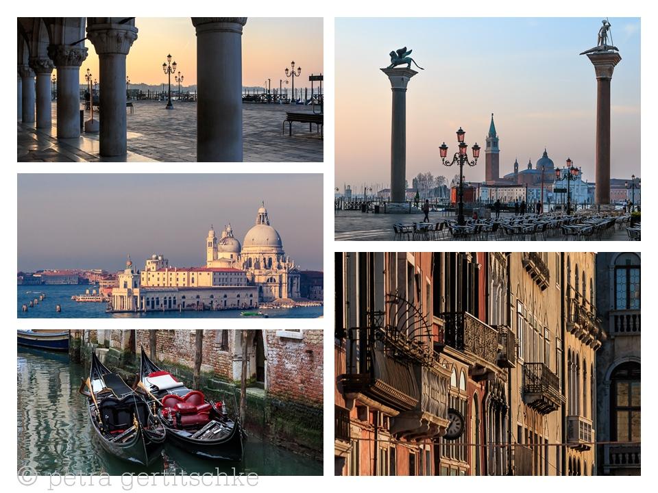 Collage Venedig