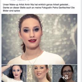Beauty-Portraits direkt aus dem Kosmetikstudio