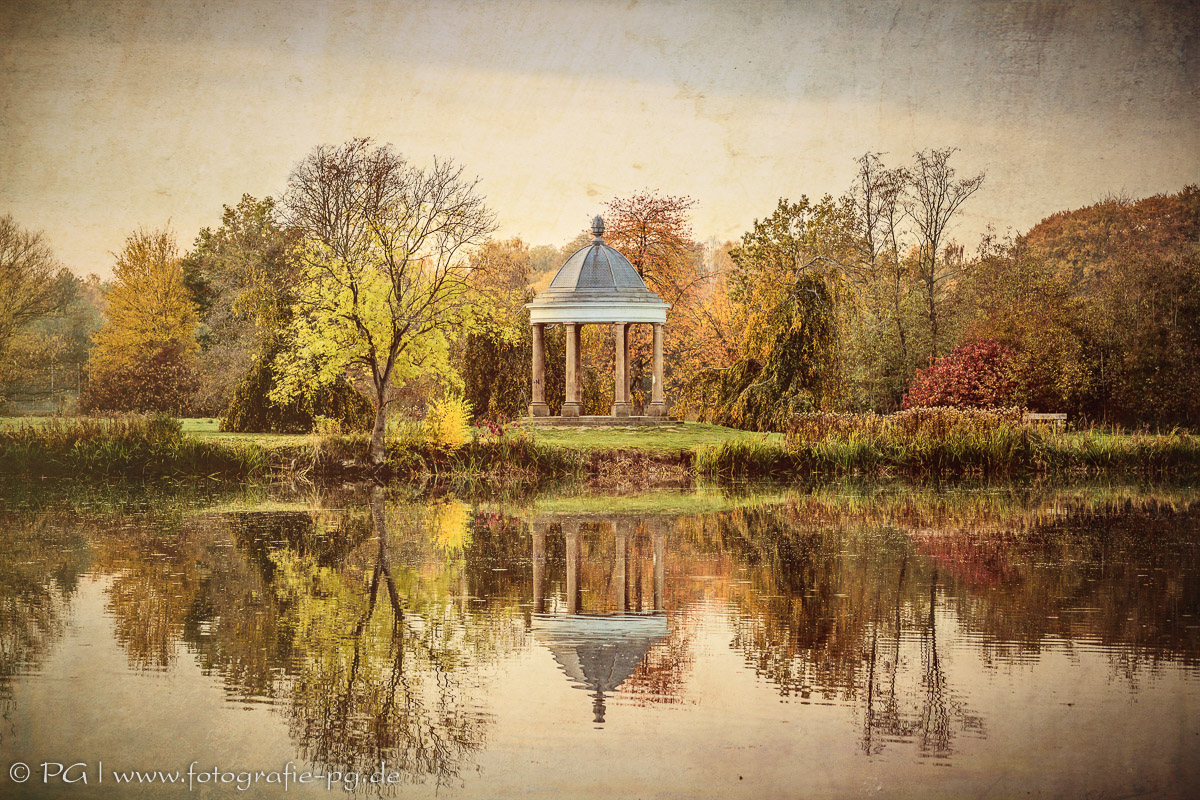 Pavillon im Richmond-Park