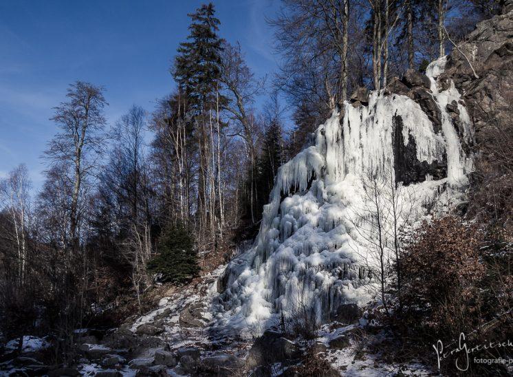 Vereist - Radauer Wasserfall